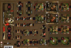 Heroes of Normandie : Punchboard - Fortified Farm